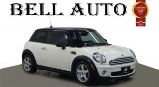 Used 2009 MINI Cooper LEATHER ALLOYS BLUETOOTH for sale in North York, ON