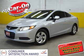 Used 2013 Honda Civic HEATED SEATS BLUETOOTH ONLY $75 B/W OAC! for sale in Ottawa, ON
