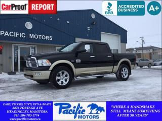 Used 2012 Dodge Ram 1500 LongHorn Edition*Fully Loaded*Nav*Sunroof*! for sale in Headingley, MB