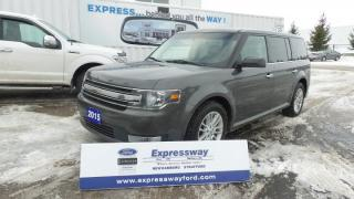 Used 2015 Ford Flex SEL 3.5L V6 285hp Moon, Leather Local Owner for sale in Stratford, ON