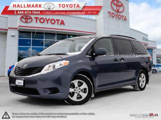 Used 2014 Toyota Sienna 7-Pass V6 6A GOOD KM'S, WELL MAINTAINED, ONE OWNER SIENNA for sale in Mono, ON