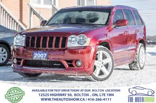 Used 2007 Jeep Grand Cherokee SRT8 for sale in Caledon, ON