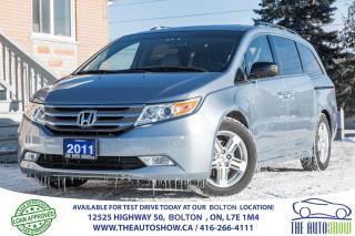 Used 2011 Honda Odyssey Touring NAVI BACKUP CAM SUNROOF POWER SLI DOOR DVD for sale in Caledon, ON