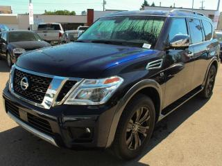 New 2018 Nissan Armada Platinum for sale in Edmonton, AB