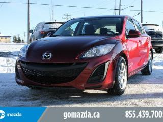 Used 2011 Mazda MAZDA3 GX SPORT POWER OPTIONS 1 OWNER for sale in Edmonton, AB