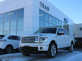 Used 2013 Ford F-150 Limited 6.2L V-8 for sale in Edmonton, AB