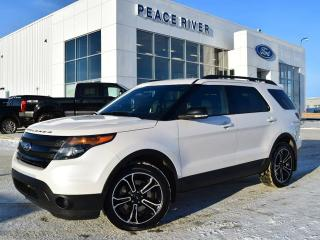 Used 2015 Ford Explorer SPORT for sale in Peace River, AB