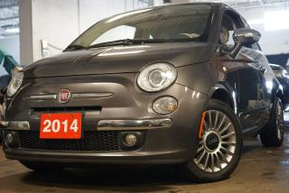 Used 2014 Fiat 500 Lounge,Low KMs, Bluetooth,Leather,Sunroof for sale in North York, ON