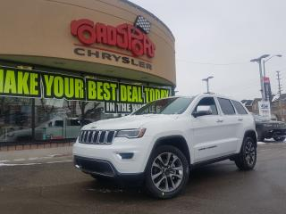 Used 2018 Jeep Grand Cherokee Limited PANO ROOF NAVI 20'S HITCH LUXURY GROUP for sale in Scarborough, ON