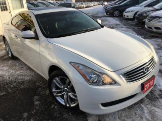 Used 2010 Infiniti G37X  Premium/AWD/Navi/Back-up Camera/mint for sale in Scarborough, ON