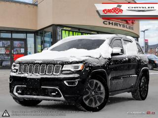 Used 2018 Jeep Grand Cherokee Overland PANO ROOF NAVI TRAILER HITCH BLIND SPOT for sale in Scarborough, ON