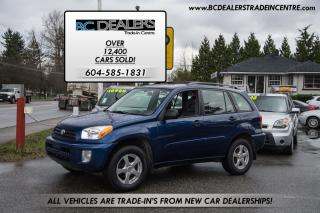 Used 2002 Toyota RAV4 5-Speed Manual, 4x4, New Bodystyle! for sale in Surrey, BC