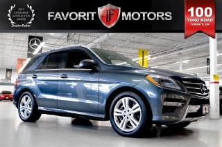Used 2013 Mercedes-Benz ML-Class ML350 BlueTEC 4MATIC | NAV | BACK-UP CAMERA for sale in North York, ON