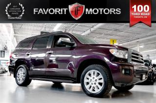 Used 2014 Toyota Sequoia Platinum AWD | 7-PASSENGER | NAV | BACK CAM | DVD for sale in North York, ON