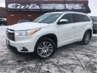 Used 2016 Toyota Highlander XLE | 8 SEATED | AWD | NAVI | CAMERA ... for sale in St Catharines, ON