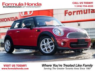 Used 2013 MINI Cooper $100 PETROCAN CARD NEW YEAR'S SPECIAL! for sale in Scarborough, ON