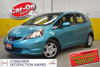 Used 2013 Honda Fit AUTO A/C CRUISE BLUETOOTH for sale in Ottawa, ON