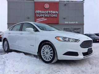 Used 2014 Ford Fusion Hybrid SE HYBRID | CLEAN CARPROOF | ONLY 60K | ALLOYS | for sale in Georgetown, ON