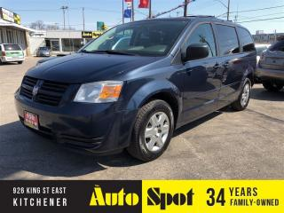 Used 2008 Dodge Grand Caravan SE/METICULOUSLY MAINTAINED/PRICED-QUICK SALE for sale in Kitchener, ON