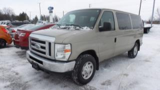 Used 2012 Ford Econoline Wagon 350 XLT V8 12Pass for sale in Stratford, ON
