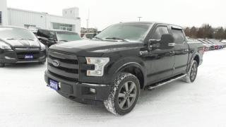 Used 2015 Ford F-150 Lariat 4x4 3.5L V6 Eco, 365Hp, Leather, Moon, Navi for sale in Stratford, ON