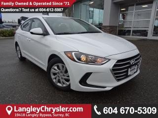 Used 2017 Hyundai Elantra GL *ACCIDENT FREE * DEALER INSPECTED * CERTIFIED * for sale in Surrey, BC