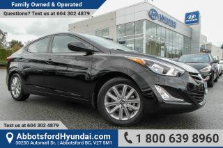 Used 2016 Hyundai Elantra Sport Appearance BC OWNED for sale in Abbotsford, BC