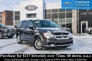 Used 2015 Dodge Grand Caravan SE for sale in Ottawa, ON