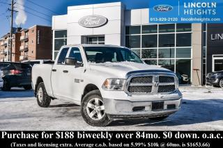 Used 2016 Dodge Ram 1500 Tradesman Quad Cab 4WD for sale in Ottawa, ON