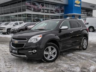 Used 2014 Chevrolet Equinox LTZ, NAV, REAR VISION CAMERA, SUNROOF! *LOOOOADED!* for sale in Ottawa, ON