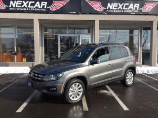 Used 2014 Volkswagen Tiguan 2.0TSI COMFORTLINE AUT0 AWD LEATHER PANO/ROOF 53K for sale in North York, ON