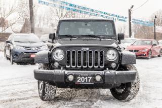 Used 2017 Jeep Wrangler Sahara for sale in Brampton, ON