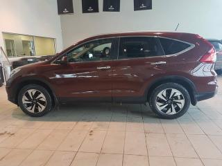 Used 2015 Honda CR-V Touring - Heated Leather, Nav, Bu+RightSide Cam + Sunroof! for sale in Red Deer, AB
