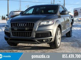 Used 2015 Audi Q7 3.0T Sport for sale in Edmonton, AB