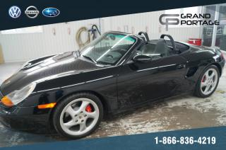 Used 2001 Porsche Boxster S 3.2L + MANUEL + DÉCAPOTABLE + AC + MAG for sale in Riviere-du-loup, QC