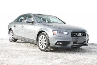 Used 2014 Audi A4 Komfort berline 4 portes quattro BA for sale in Quebec, QC