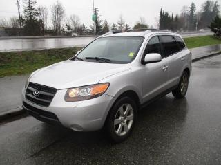 Used 2007 Hyundai Santa Fe GL Premium w/Lth for sale in Surrey, BC