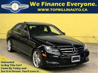 Used 2014 Mercedes-Benz C-Class C350 4MATIC, Navi, Pano Roof, Backup Cam for sale in Concord, ON