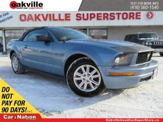 Used 2007 Ford Mustang SOFT TOP | A/C | CRUISE CONTROL | LOW KM for sale in Oakville, ON