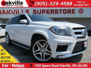 Used 2016 Mercedes-Benz GL-Class 4MATIC BlueTec + LEATHER+SUNROOF+7 PASS+B/U CAM for sale in Oakville, ON