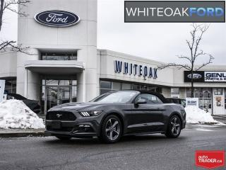 Used 2017 Ford Mustang convertible, v6, automatic for sale in Mississauga, ON