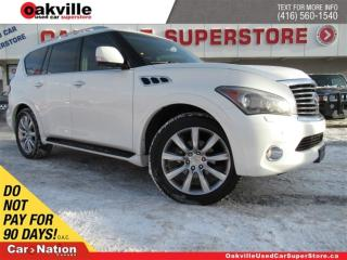 Used 2011 Infiniti QX56 LEATHER | TECH PACK | AWD | 7 PASS | DVD | 360 CAM for sale in Oakville, ON
