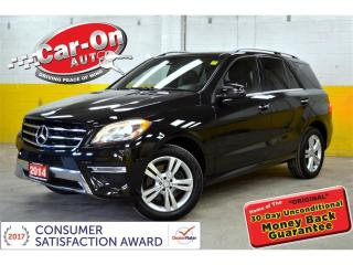 Used 2014 Mercedes-Benz ML-Class ML350 BlueTEC 4MATIC NAVI LEATHER PANO ROOF LOADED for sale in Ottawa, ON