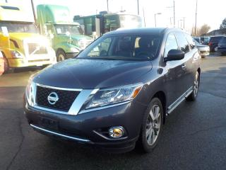 Used 2014 Nissan Pathfinder Platinum 4WD 3rd row seating for sale in Burnaby, BC