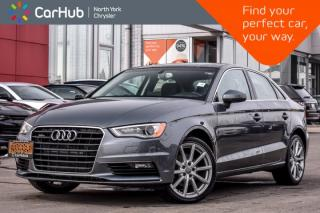 Used 2015 Audi A3 2.0T Progressiv|AWD|Sunroof|Keyless_Go|Bluetooth for sale in Thornhill, ON