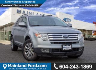 Used 2007 Ford Edge SEL Plus LOCAL for sale in Surrey, BC