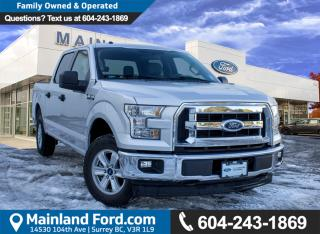 Used 2017 Ford F-150 XLT NO ACCIDENTS, LOCAL, LOW KMS for sale in Surrey, BC