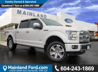 Used 2015 Ford F-150 Platinum NO ACCIDENTS, LOCAL, LOW KMS for sale in Surrey, BC