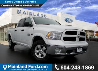 Used 2016 Dodge Ram 1500 SLT NO ACCIDENTS, LOCAL, LOW KMS for sale in Surrey, BC