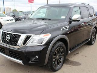 New 2018 Nissan Armada Platinum 4dr 4x4 for sale in Edmonton, AB